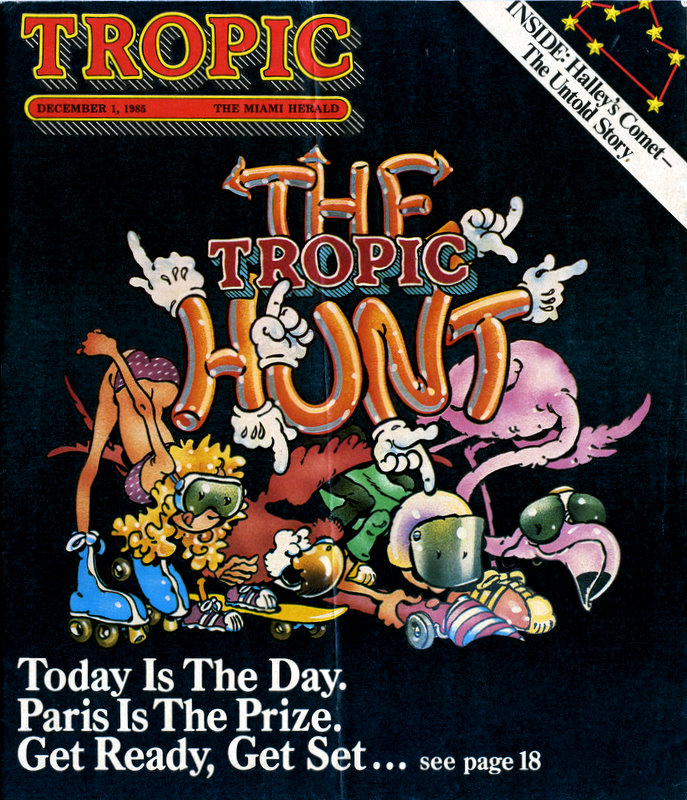 1985 Tropic Hunt Cover Image