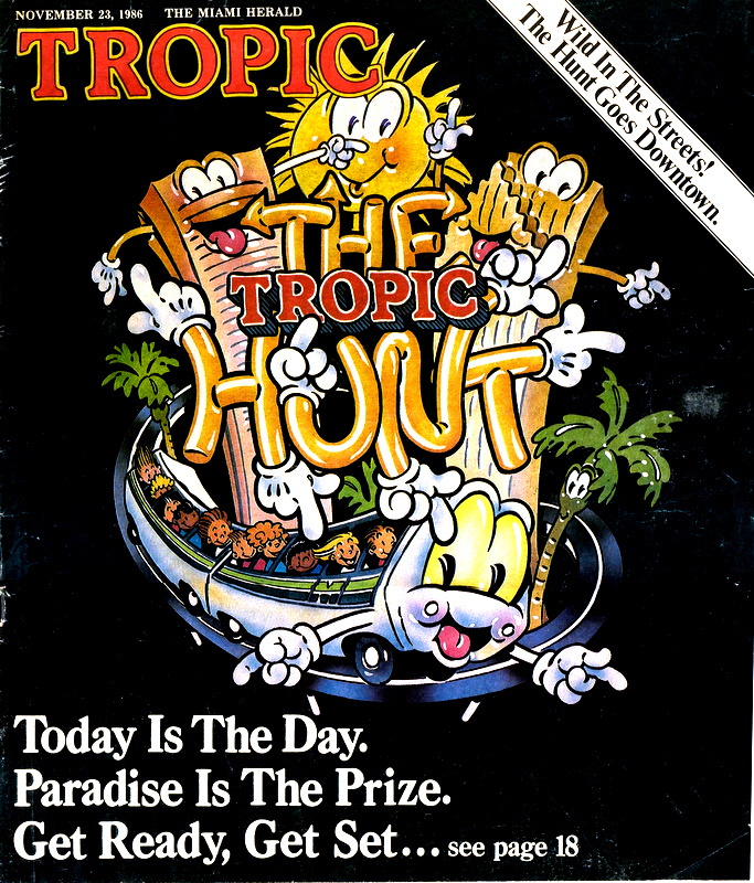 1986 Tropic Hunt Cover Image