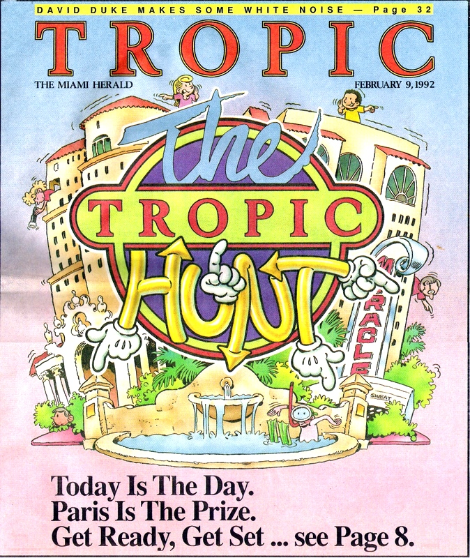 1992 Tropic Hunt Cover Image