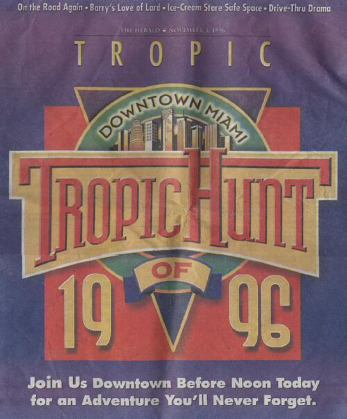 1996 Tropic Hunt Cover Image