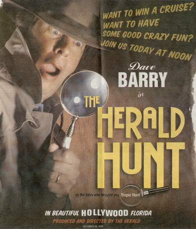 2001 Herald Hunt Cover Image